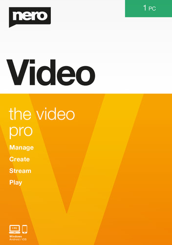 Verpackung von Nero Video [PC-Software]