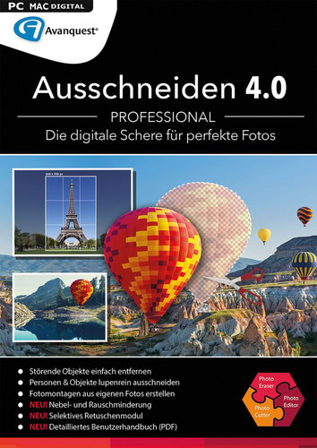 Ausschneiden 4.0 Professional (Mac) (Download), MAC