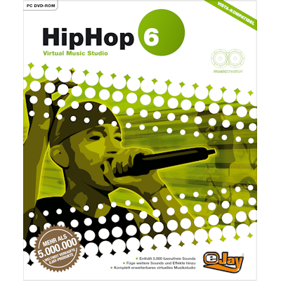 Verpackung von eJay HipHop 6 [PC-Software]