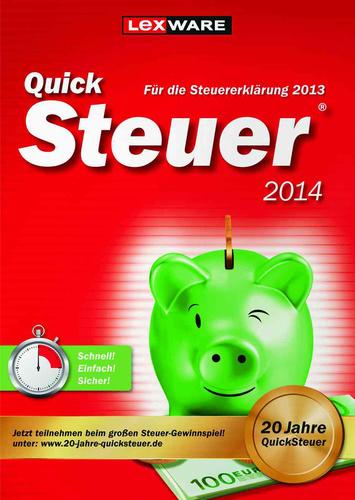Quicksteuer 2014 (für Steuerjahr 2013)