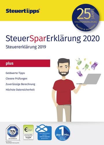 Verpackung von SteuerSparErklärung plus 2020 (für Steuerjahr 2019) [PC-Software]