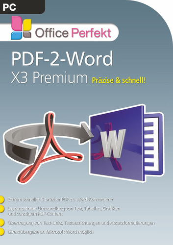 PDF-2-Word X3 Premium (Download), PC