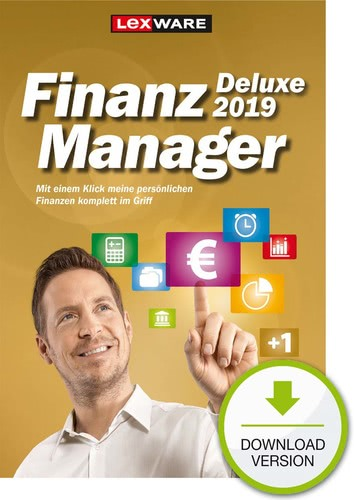 Lexware FinanzManager Deluxe 2019, ESD (Downloa...