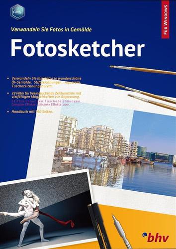 Verpackung von FotoSketcher für Einsteiger [PC-Software]