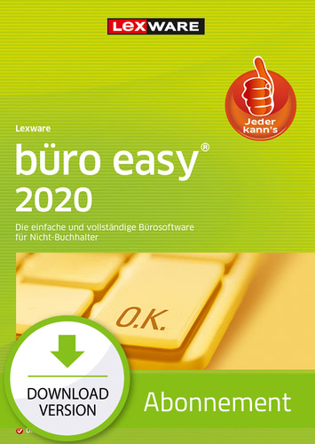 Verpackung von Lexware büro easy 2020 - Abo Version [PC-Software]