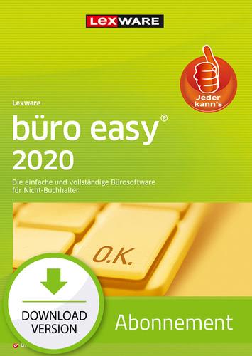 Lexware büro easy 2020 – Abo Version (Download), PC
