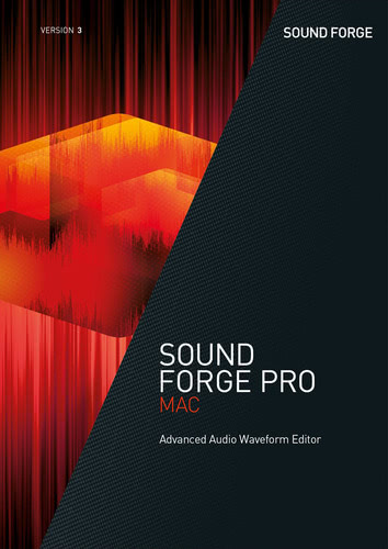 Packaging by SOUND FORGE Pro Mac 3 [Mac-software]