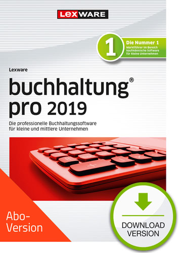 Lexware buchhaltung pro 2019 Download – Abo Version