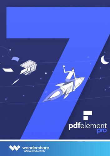 Verpackung von Wondershare PDF Element 7 Pro [Mac-Software]