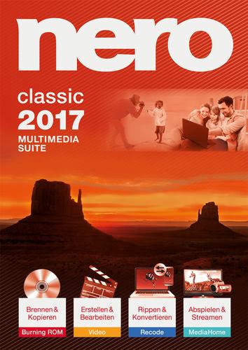 Verpackung von Nero 2017 Classic [PC-Software]