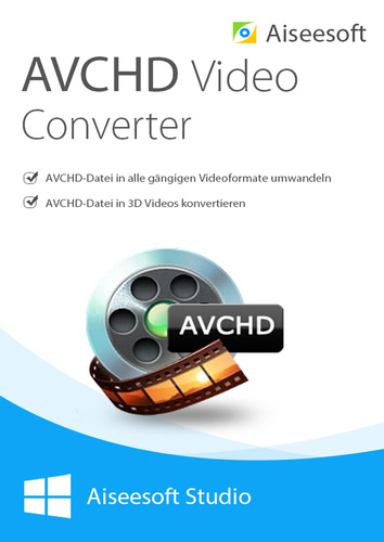 Aiseesoft avchd video converter- Lebenslange Lizenz (Download), PC