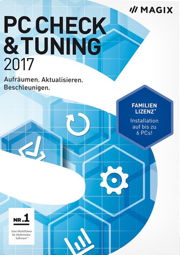 Verpackung von Magix PC Check & Tuning 2017 [PC-Software]
