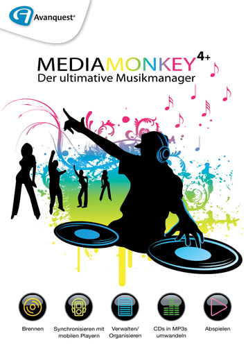 Media Monkey 4+ (Download), PC