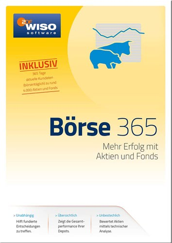 Verpackung von WISO Börse 365 Tage (Version 2017) [PC-Software]