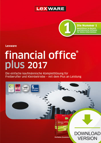 Lexware financial office plus 2017 Jahresversion (365-Tage)