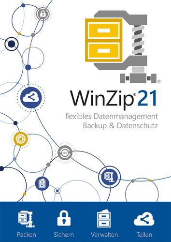 Verpackung von WinZip 21.5 Standard [PC-Software]