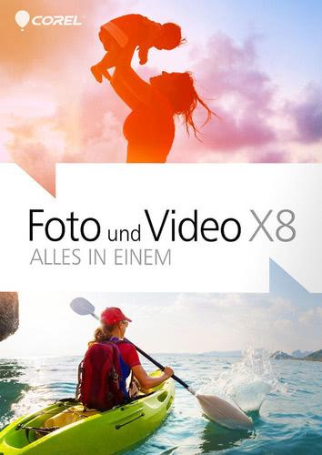 Verpackung von Foto und Video X8 - Alles in Einem [PC-Software]