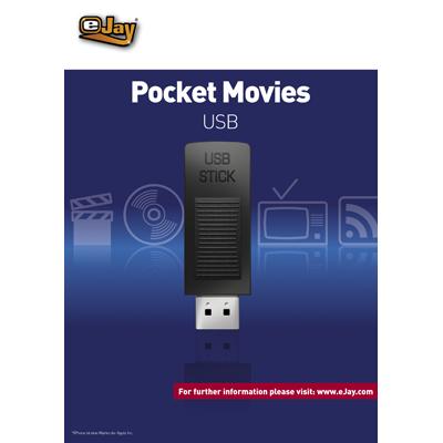 Verpackung von eJay Pocket Movies für USB [PC-Software]
