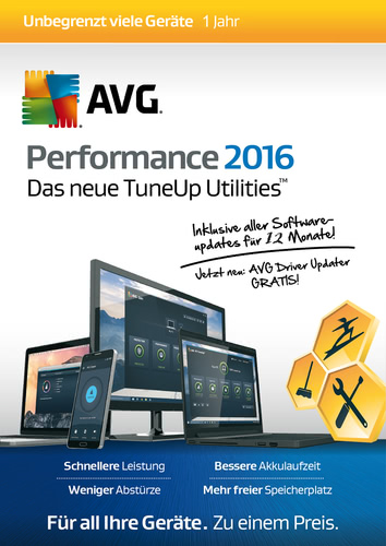 AVG Performance 2016 Unlimited 12 Monate