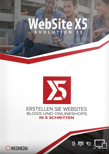 Verpackung von WebSite X5 Evolution 13 [PC-Software]
