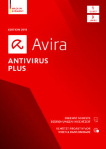 Avira Antivirus Plus 2018 1 Geräte / 36 Monate