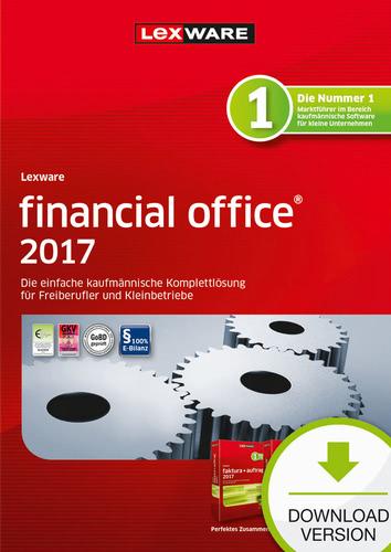 Verpackung von Lexware financial office 2017 Jahresversion (365-Tage) [PC-Software]