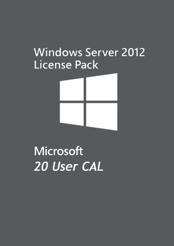 Verpackung von Microsoft Windows Server 2012 - 20 User CAL [PC-Software]