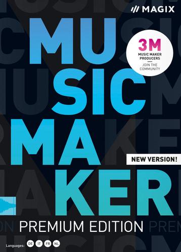 Verpackung von Music Maker 2020 Premium Edition [PC-Software]