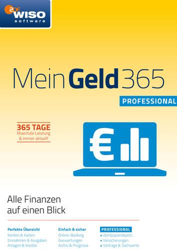Verpackung von WISO Mein Geld Professional 365 Tage (Version 2018) [PC-Software]