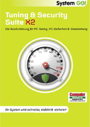 Verpackung von System GO! Tuning & Security Suite X2 [PC-Software]