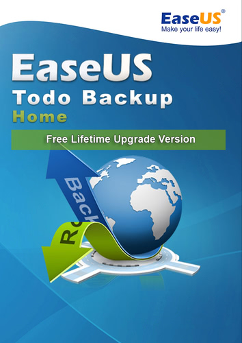 Verpackung von EaseUS Todo Backup Home Free Lifetime Upgrade Version [PC-Software]