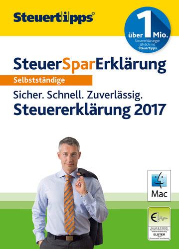 Verpackung von SteuerSparErklärung Selbstständige 2018 (für Steuerjahr 2017) [Mac-Software]