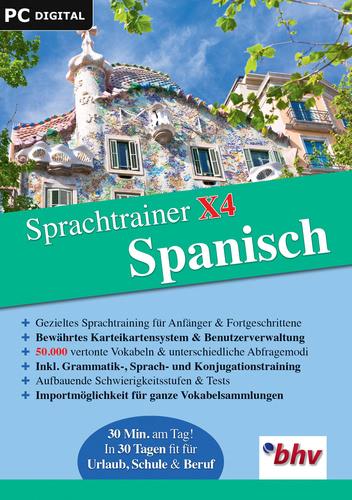 Verpackung von Sprachtrainer X4 Spanisch [PC-Software]