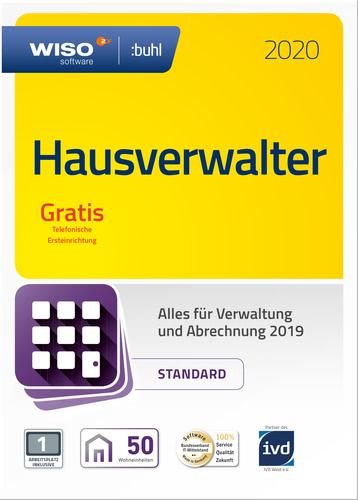 Verpackung von WISO Hausverwalter 2020 Standard [PC-Software]