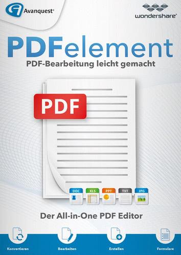 Verpackung von Wondershare PDFelement 6.5 für Mac (ohne OCR-Texterkennung) - lebenslange Lizenz [Mac-Software]