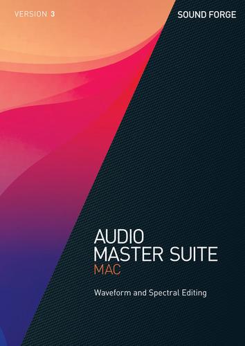 Verpackung von Audio Master Suite Mac 3 [Mac-Software]