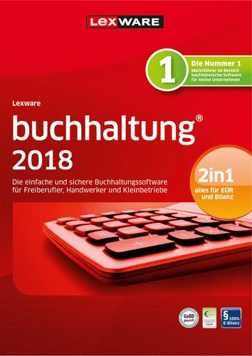 Verpackung von Lexware buchhaltung 2018 Jahresversion 365-Tage (FFP) [PC-Software]