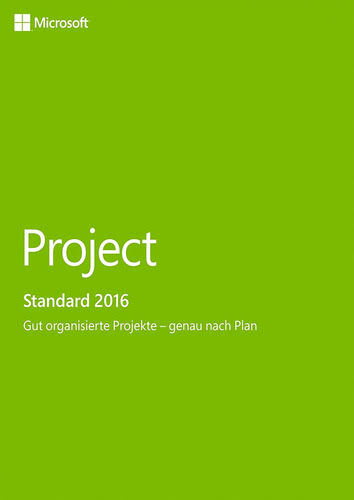 Project 2016 (Product Key Card ohne Datenträger)
