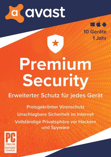 Verpackung von Avast Premium Security (Multi-Device) [MULTIPLATFORM]