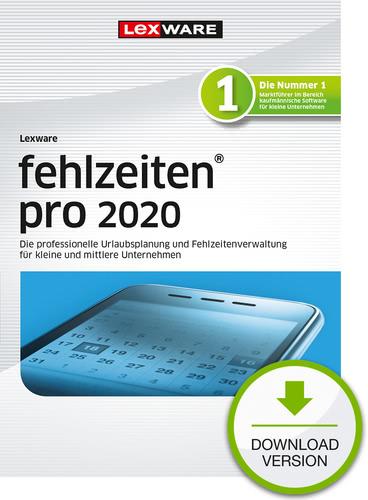 Verpackung von Lexware fehlzeiten 2020 pro - Jahresversion (365-Tage) [PC-Software]