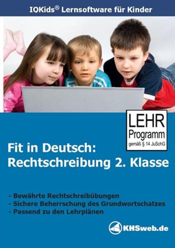 Verpackung von Fit in Deutsch Rechtschreibung 2. Klasse [PC-Software]