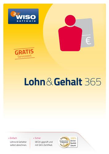WISO Lohn & Gehalt 365 Tage