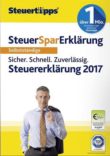 Verpackung von SteuerSparErklärung Selbstständige 2018 (für Steuerjahr 2017) [PC-Software]