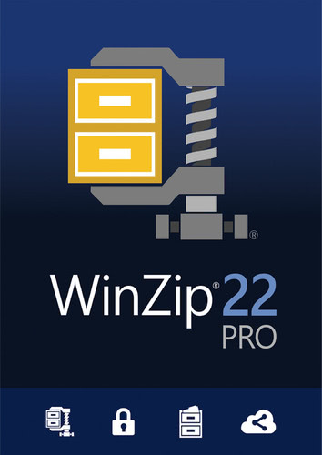 Verpackung von WinZip 22 Pro [PC-Software]