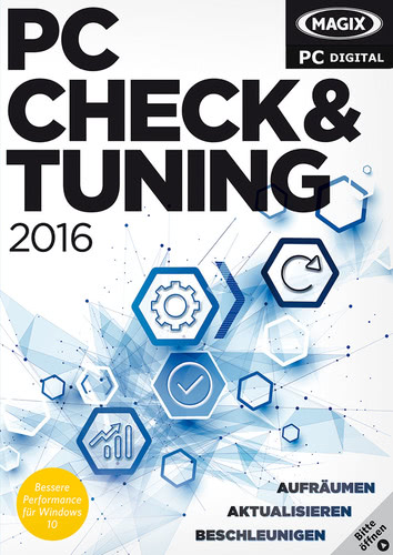 Verpackung von Magix PC Check & Tuning 2016 [PC-Software]