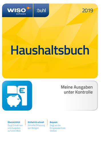 WISO Haushaltsbuch 2019 (Download), PC