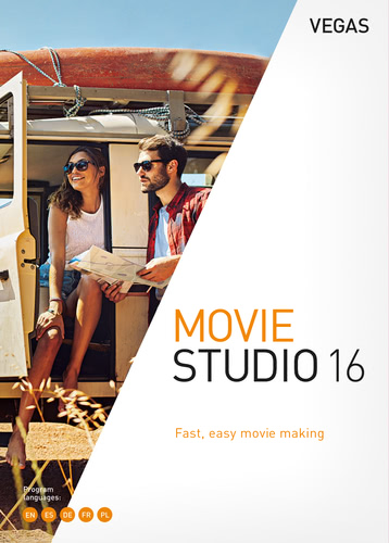 Verpackung von Vegas Movie Studio 16 [PC-Software]