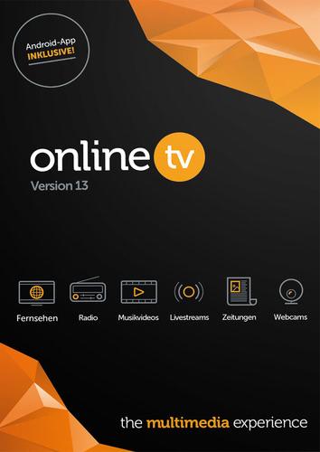 Verpackung von Avanquest OnlineTV Recorder 13 [PC-Software]