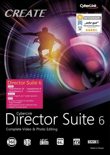 CyberLink Director Suite 6, Box (PC)