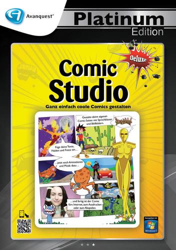 Avanquest Platinum Edition Comic Studio Deluxe